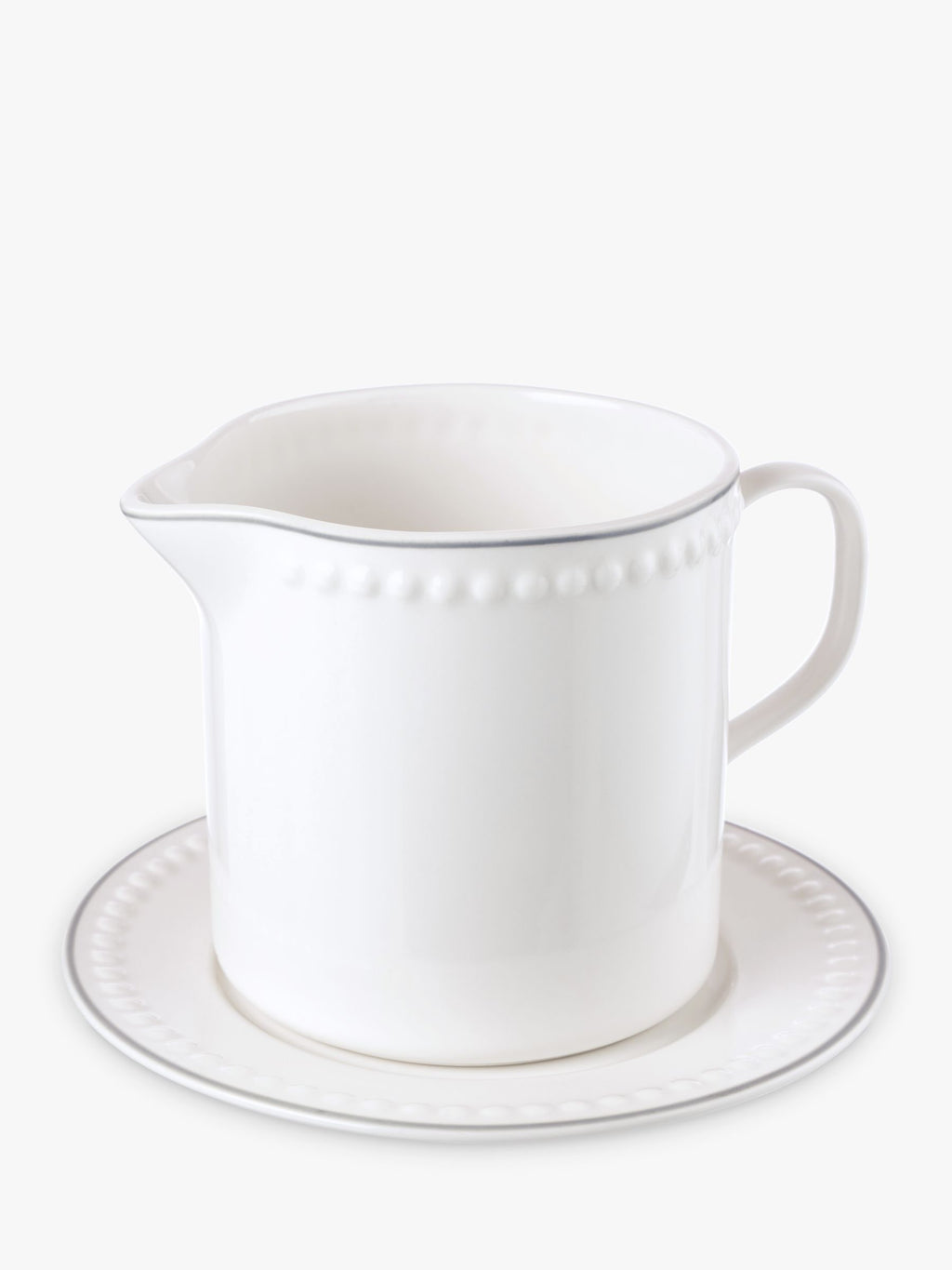 Mary Berry Signature Jug & Saucer, 500ml, White