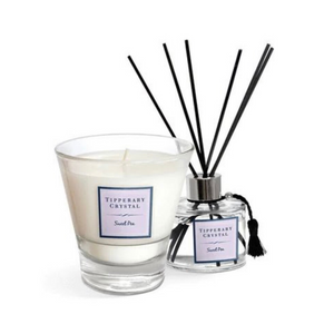 Sweet Pea Candle & Diffuser Gift Set