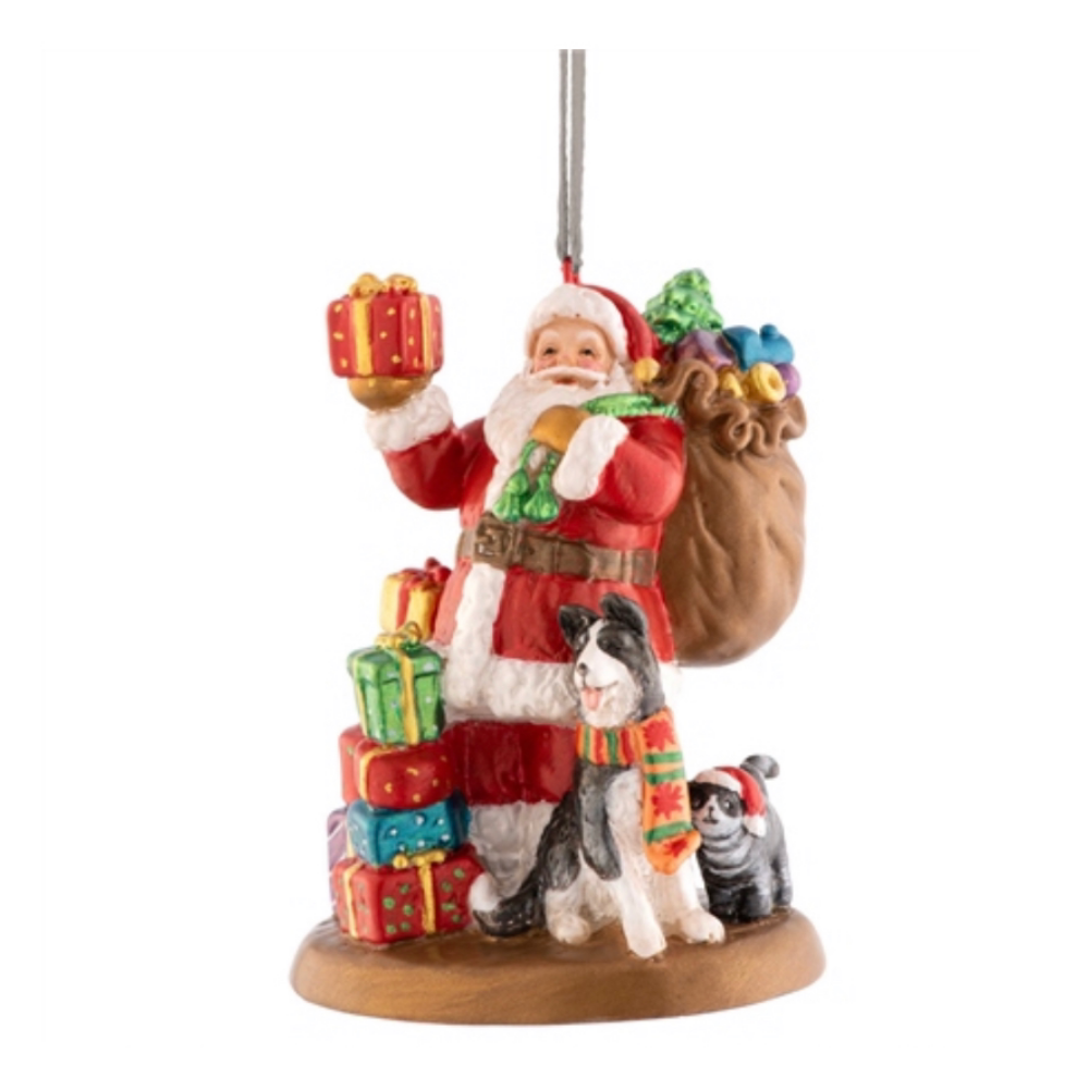 Aynsley Santa Leaving Gifts Ornament