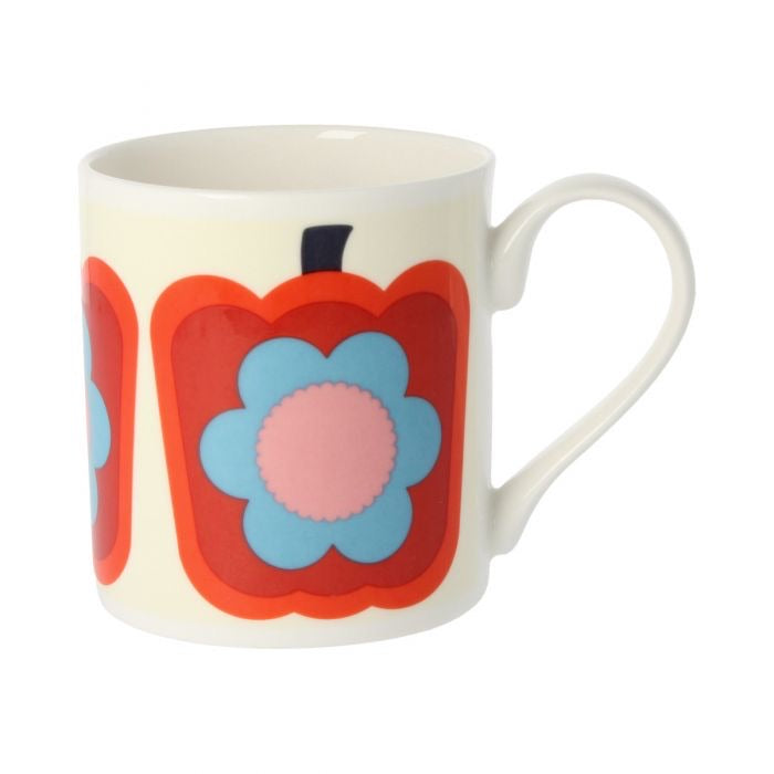 Orla Kiely Pepper Red Mug, 300ML