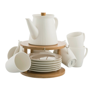 Pekoe 13-Piece Set and Stand