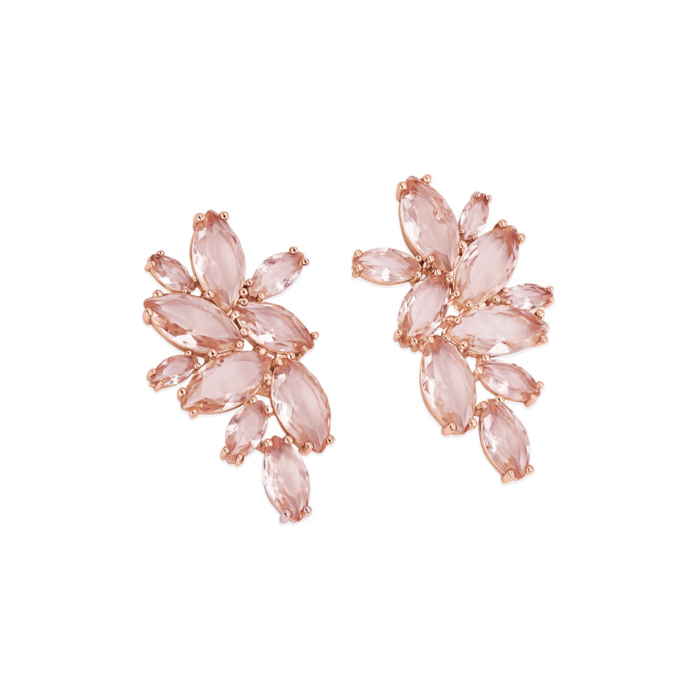 Maureen O Hara Rose Gold Earrings