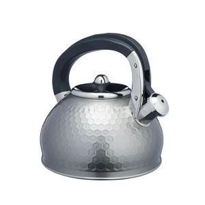 Lovello Textured Grey Whistling Kettle