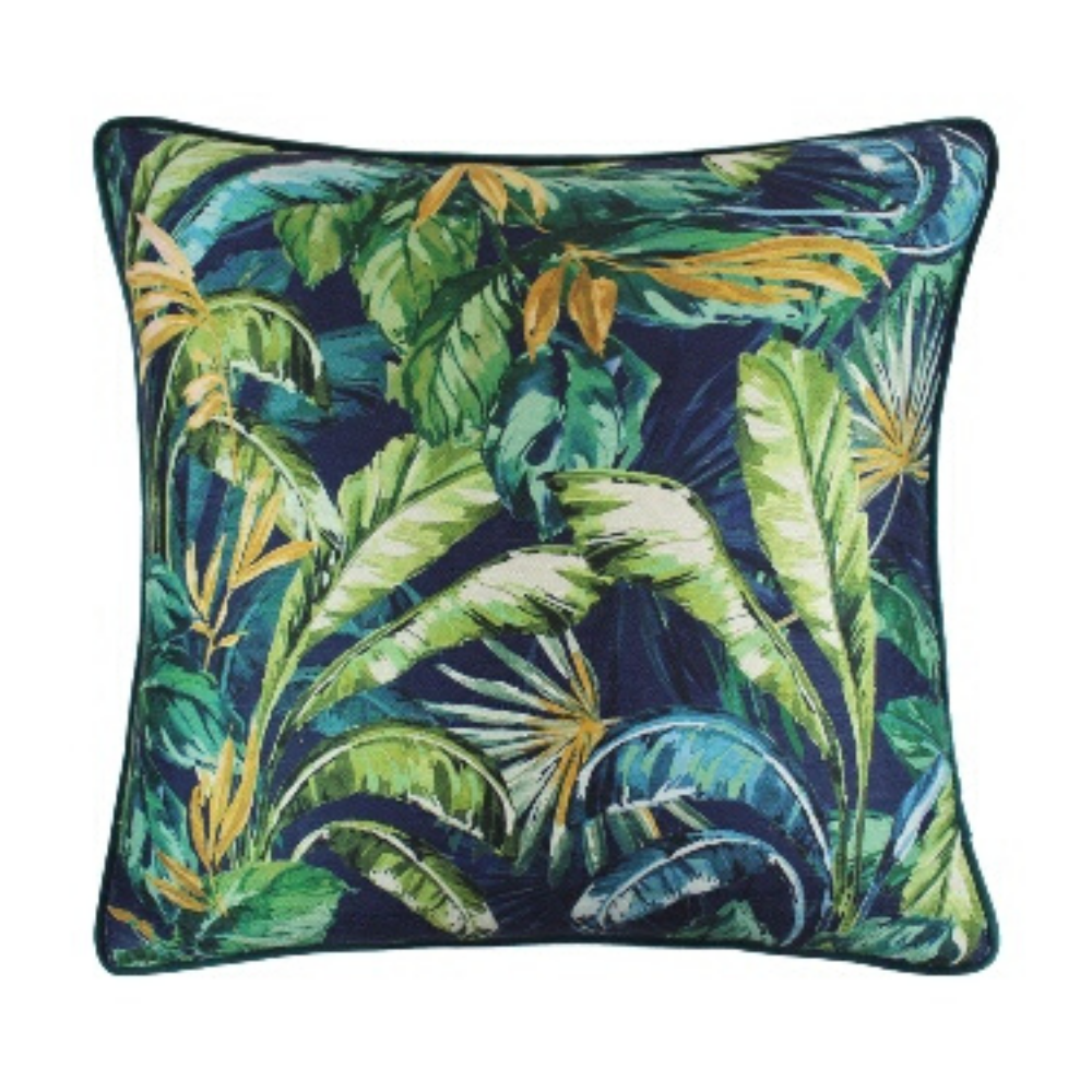 Paradisa 45x45cm Cushion, Green/Blue