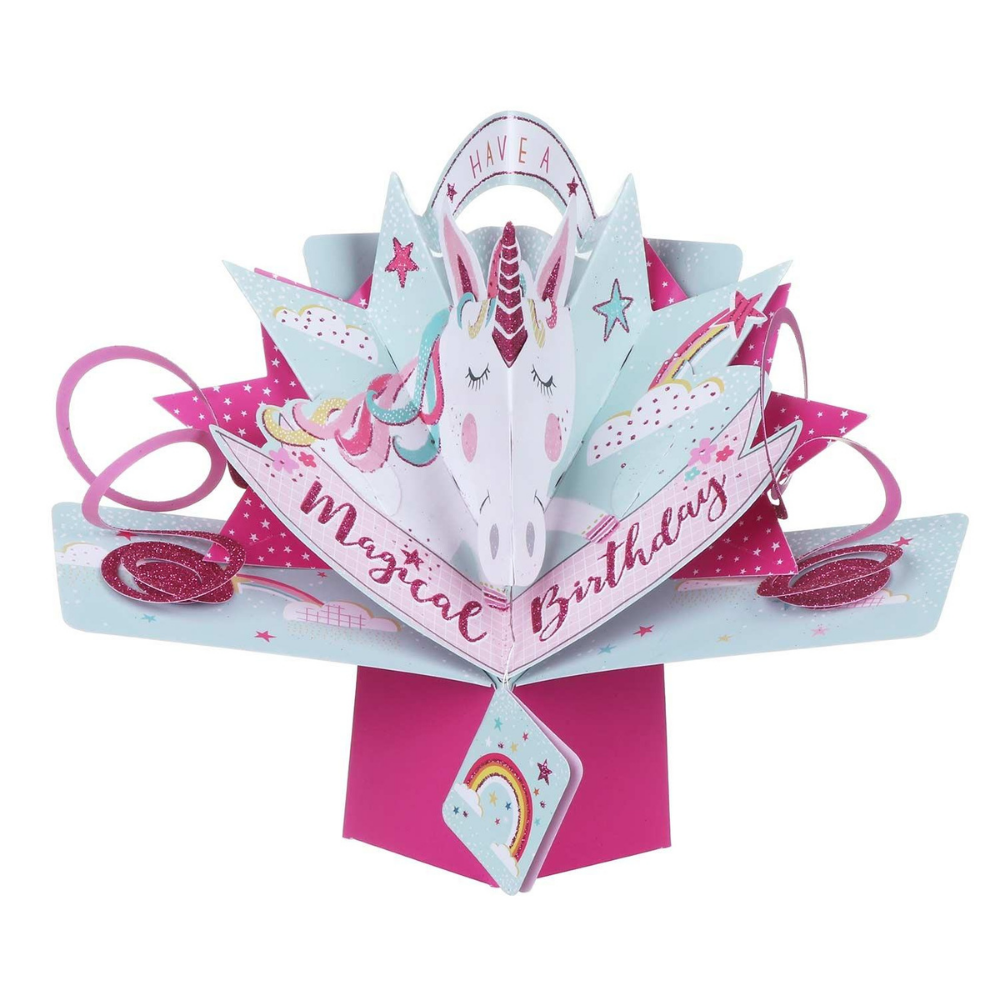 'Magical Birthday' Pop Up Card 3D Pop Up Card