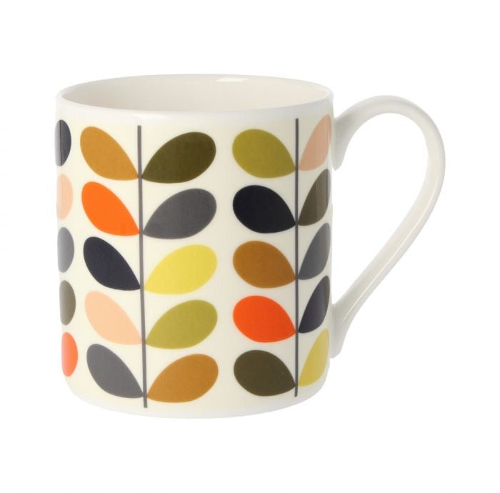 Orla Kiely New Multi Colour Ten Stem Mug, 350ML