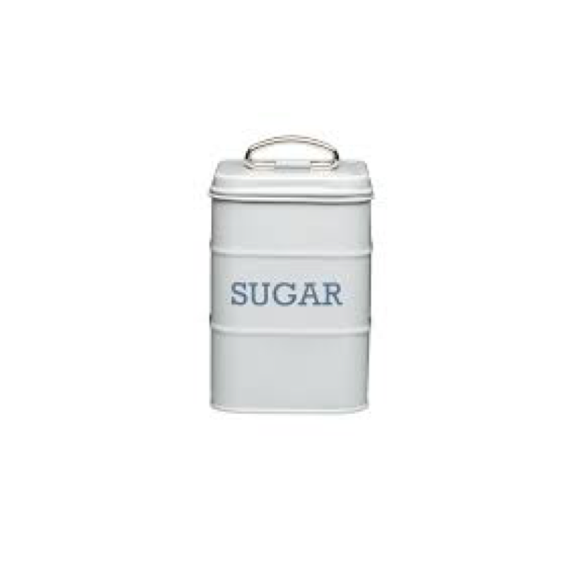 Living Nostalgia French Grey Sugar Tin