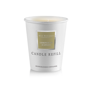 Candle Refill Lemongrass and Ginger