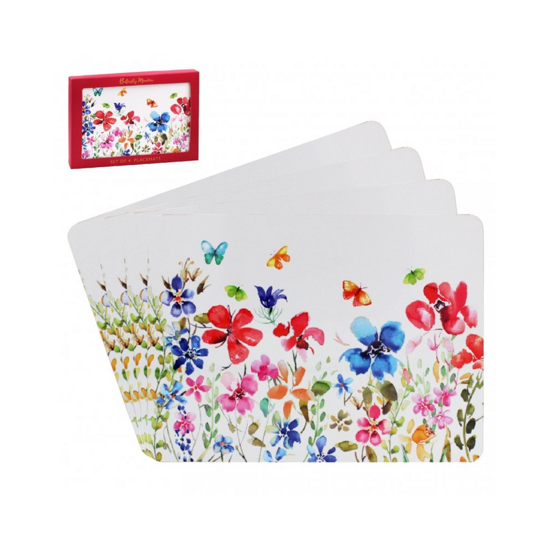Butterfly Meadow 4 Placemats