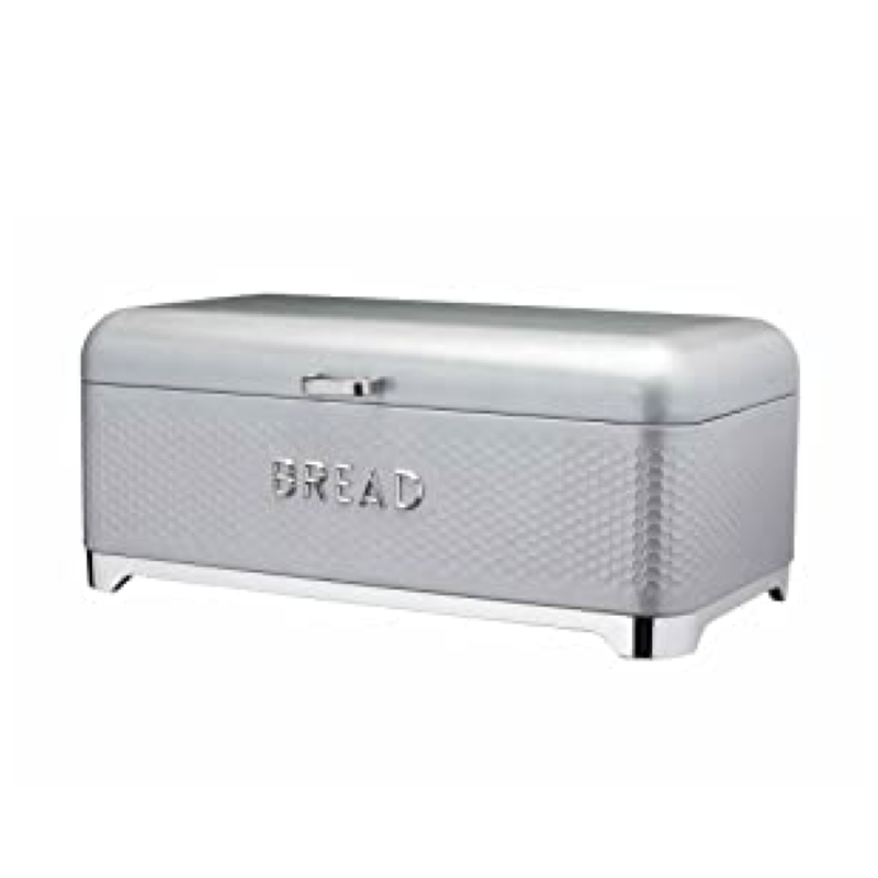Lovello Textured Bread Bin- Shadow Grey