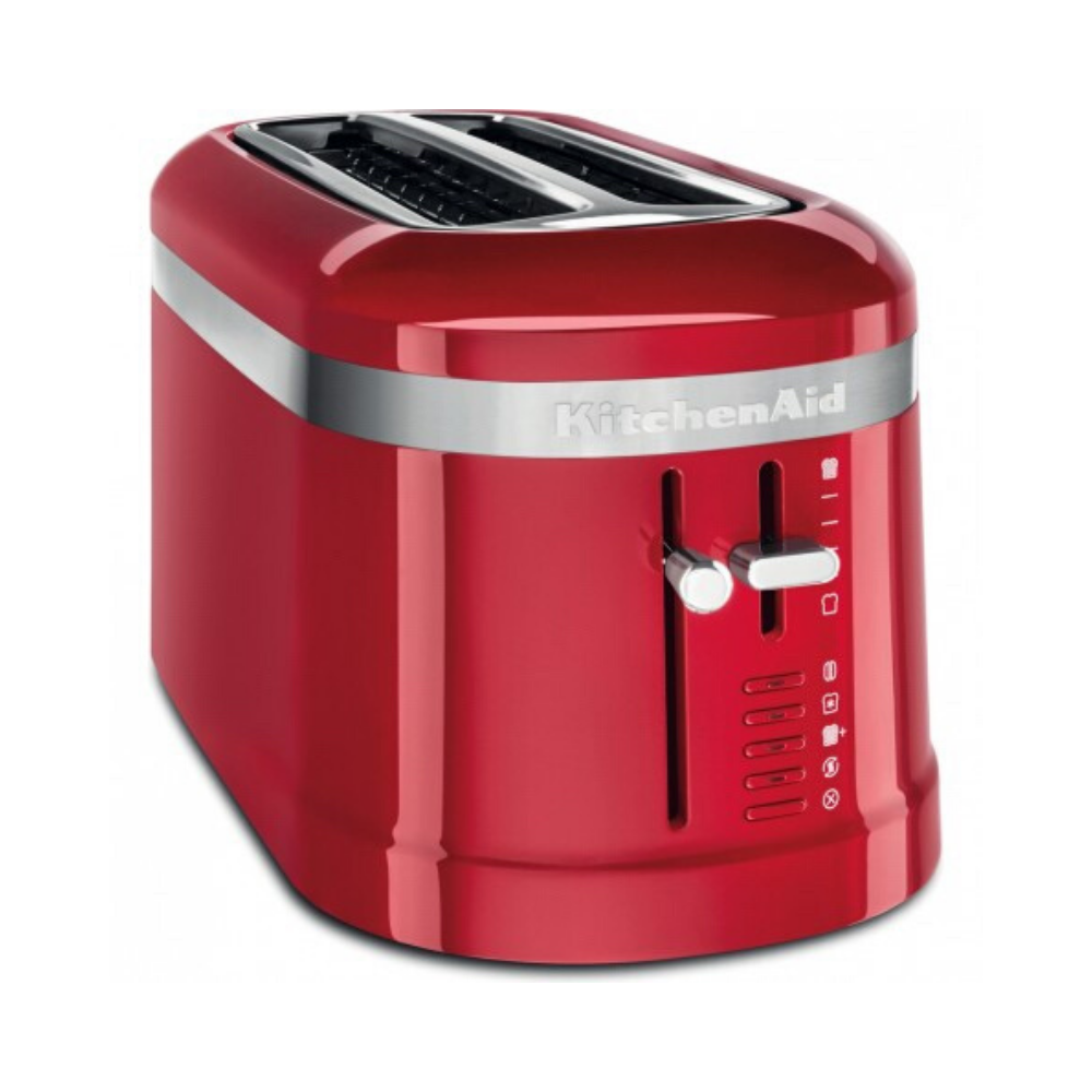 4 Slice Long Empire Red Toaster
