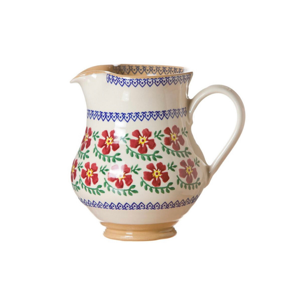 Medium Jug Old Rose