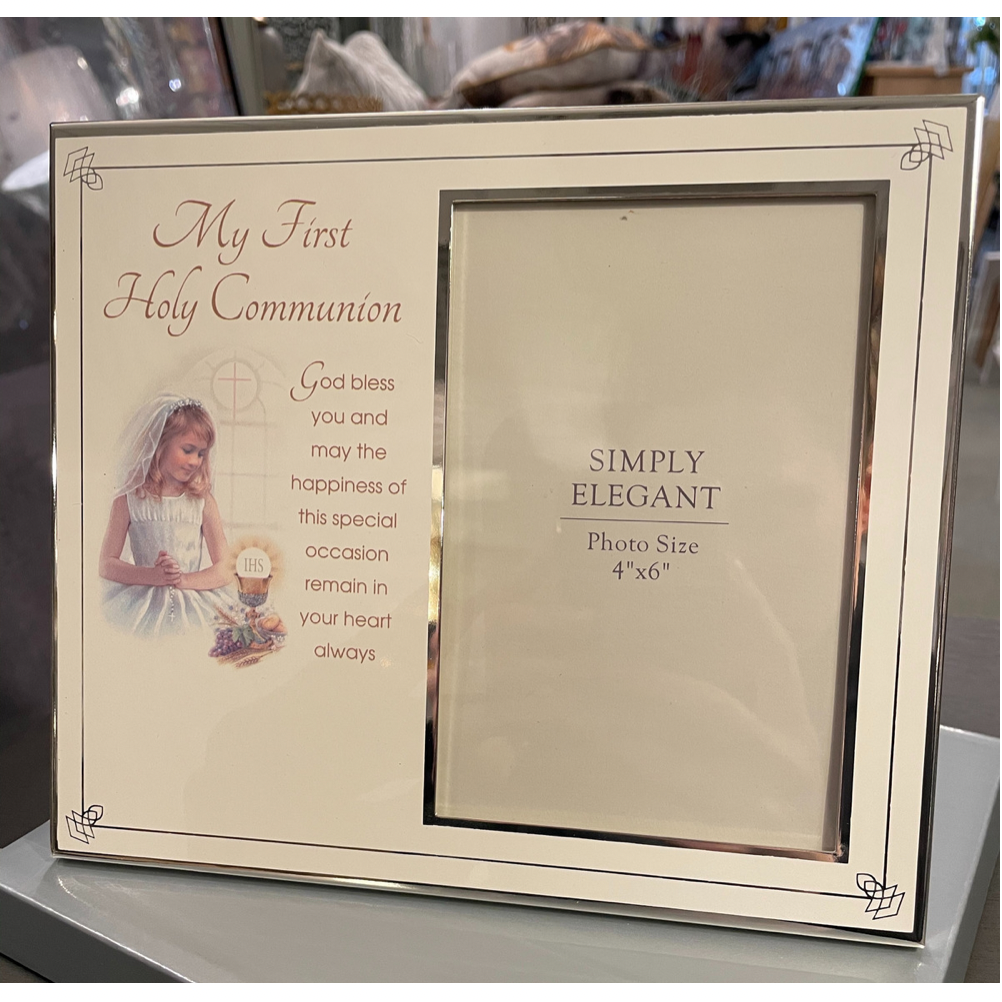 My First Communion Frame Girl
