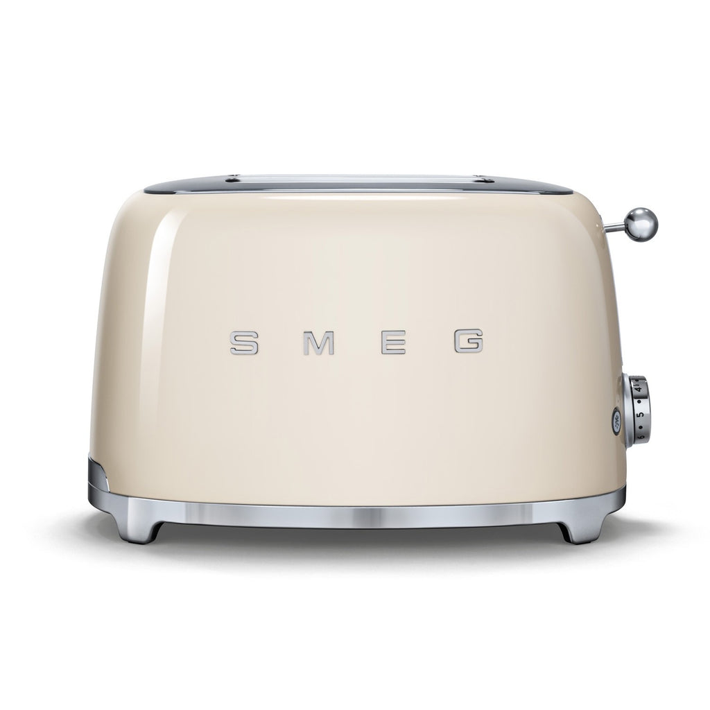 Smeg 2-Slice Toaster - Cream