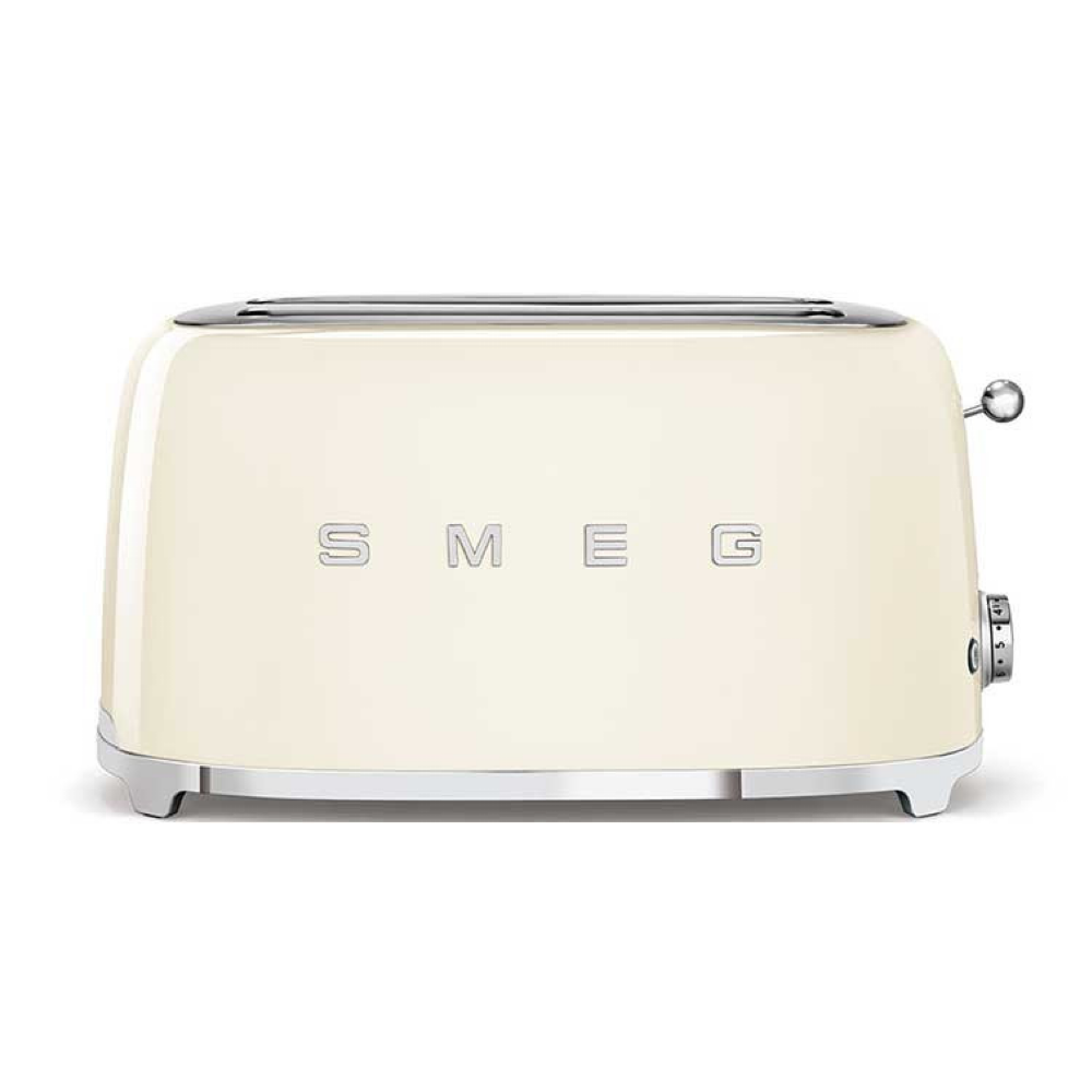 Smeg 4 Slice Toaster - Cream