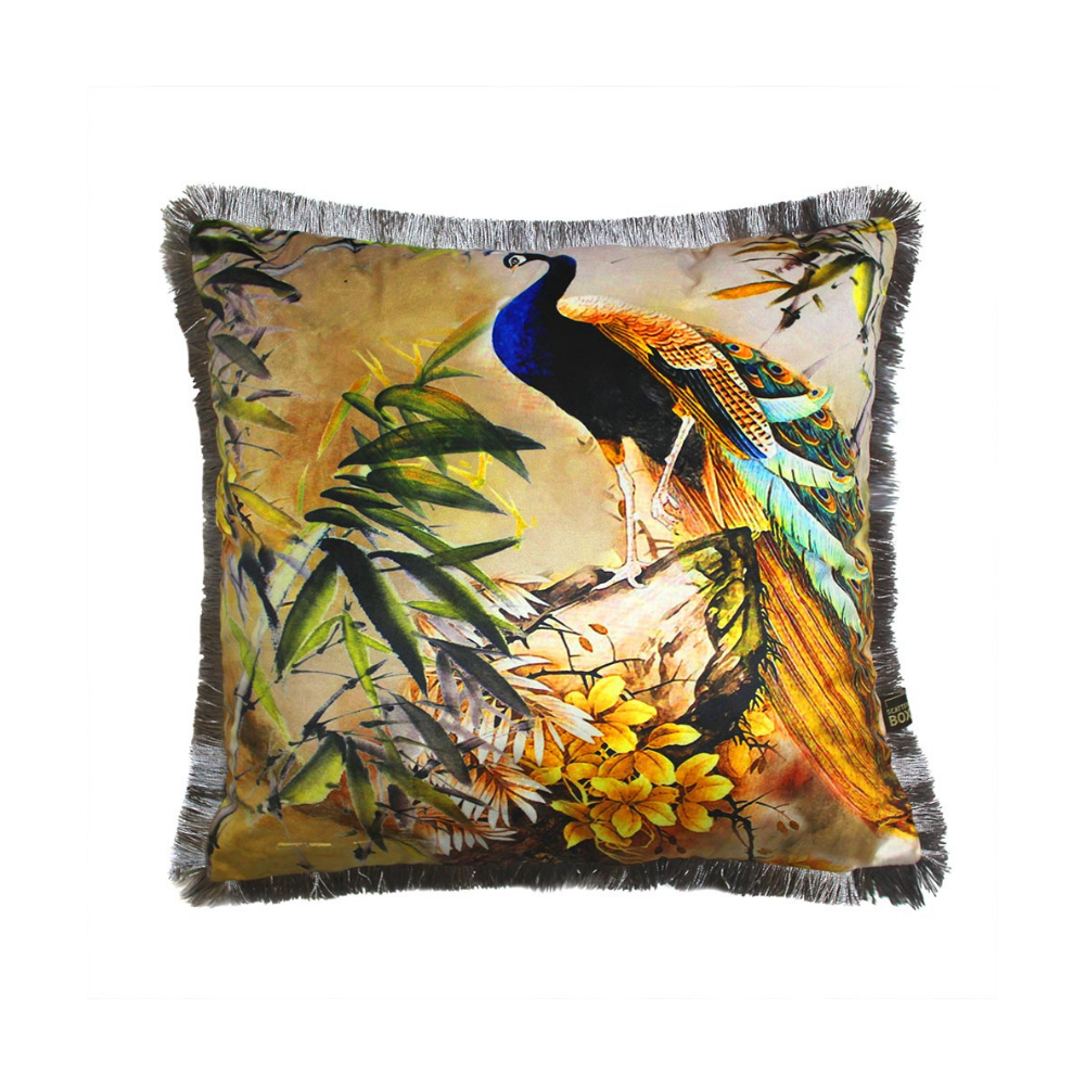 Shiva 45x45cm Cushion, Blue