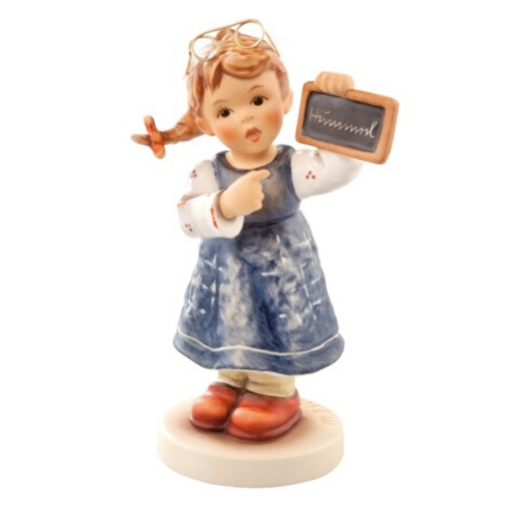 Teaching Time Figurine