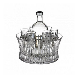 Waterford Crystal 7 pce Vodka Chill set