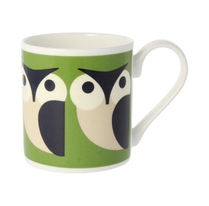 Orla Kiely Apple Owl Mug, 300ML