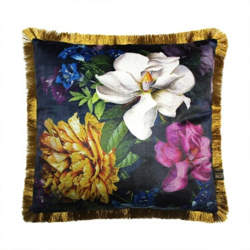 43x43cm Cushion, Magnolia Navy