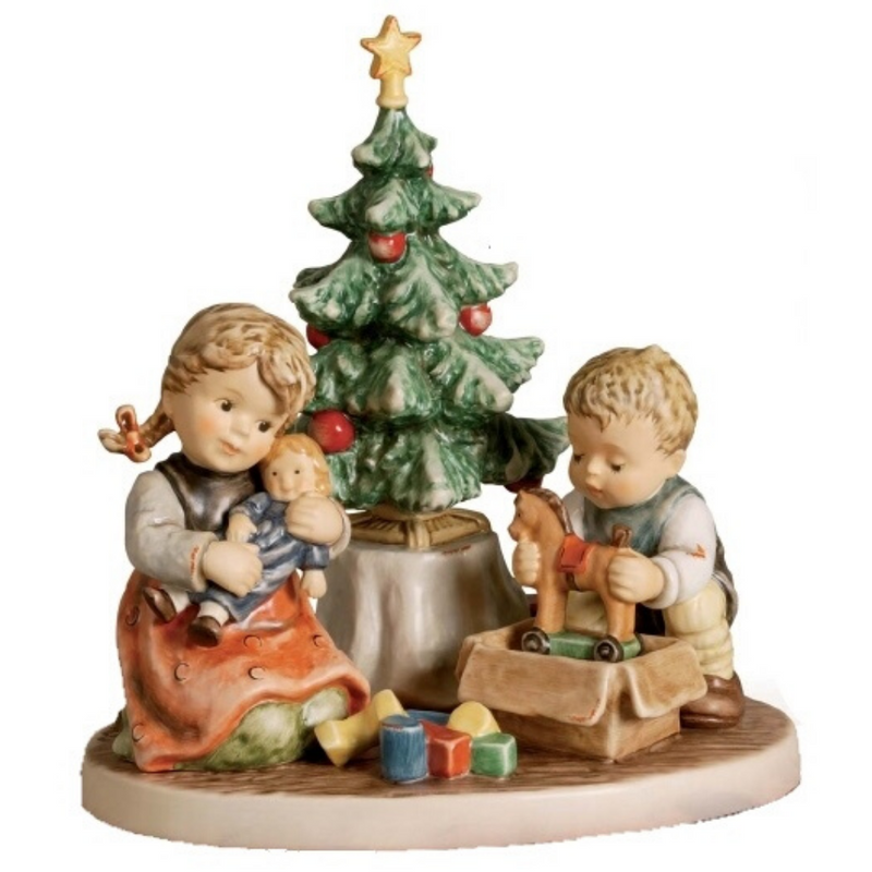 Christmas Morning Figurine