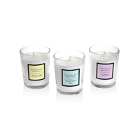 Set of 3 Assorted Mini Candles