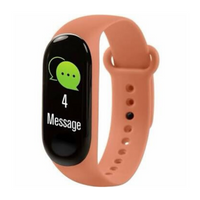 Orange Smart Activity Tracker Watch