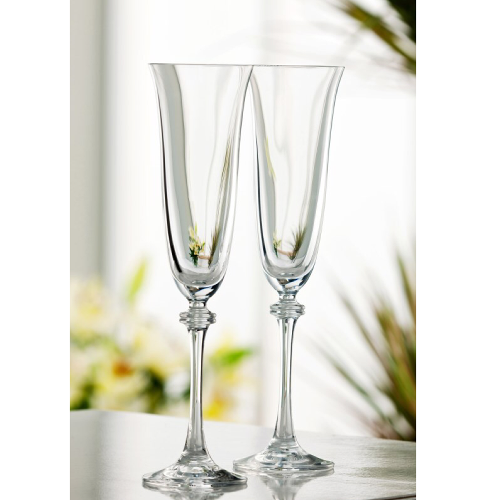 Liberty Champagne Flutes, Set Of 2