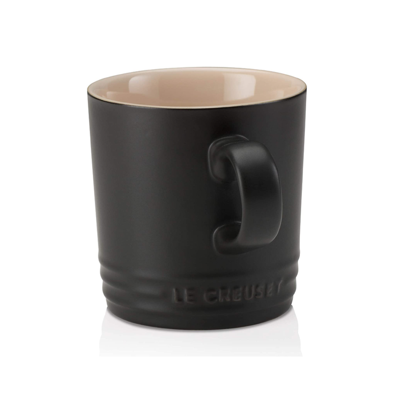Stoneware Mug, Satin Black