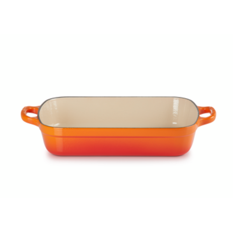 Le Creuset Cast Iron Roaster with Free Roasting Rack