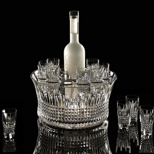 Lismore Diamond Vodka Chill Bowl 7 Pce