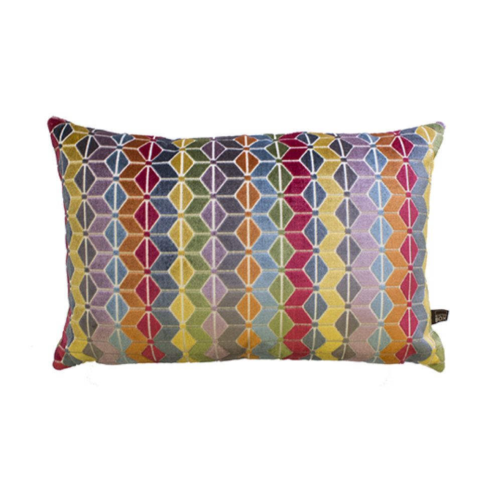Hexa Cushion 40 x 60cm, Multi
