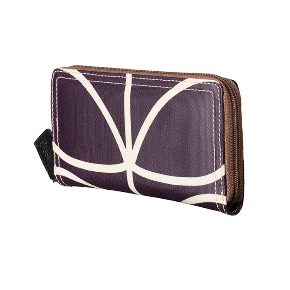 Giant Linear Stem Wallet, Orchid