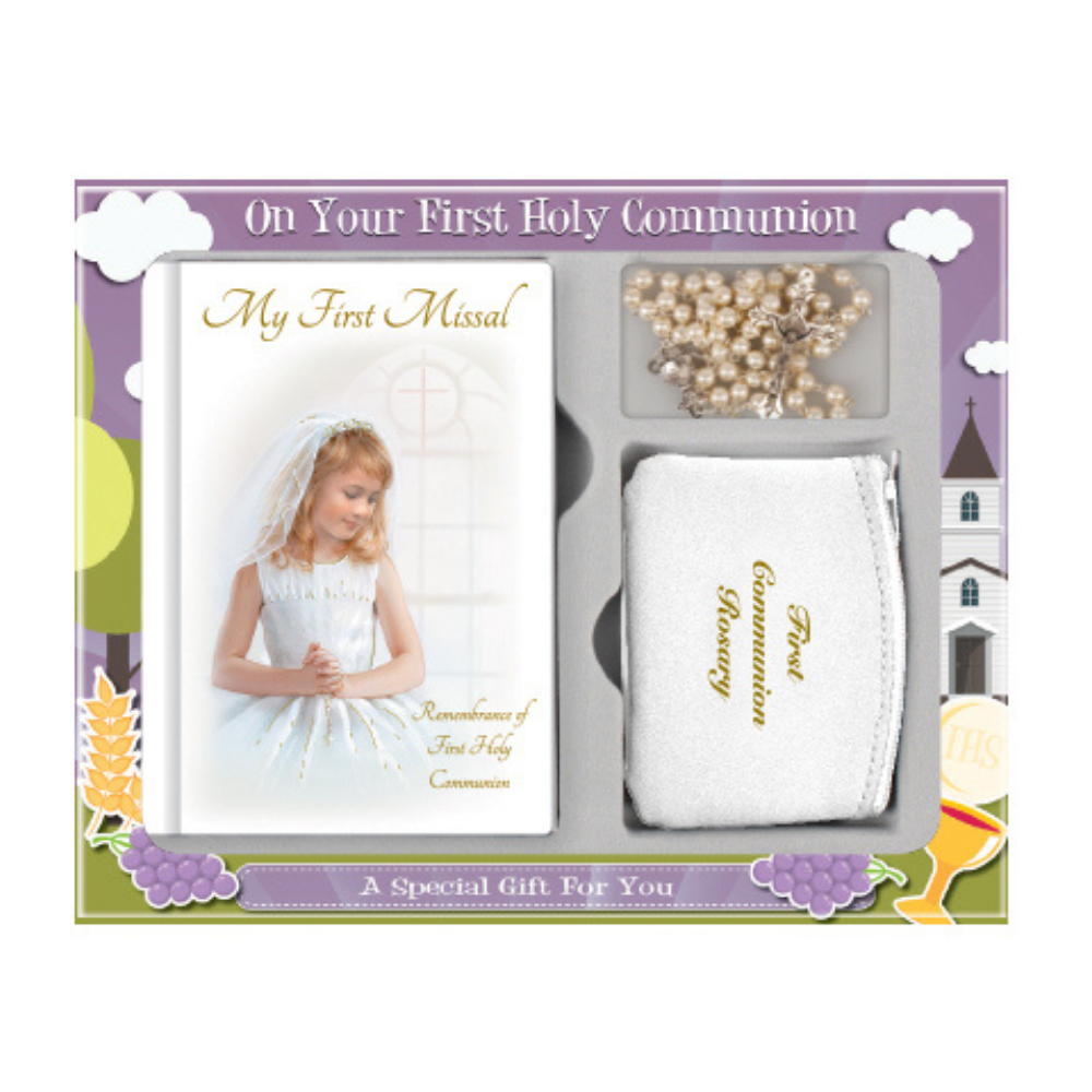 Holy Communion Keepsake Girl