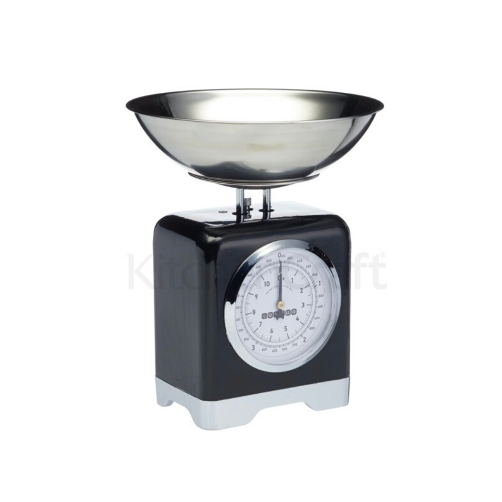 Lovello Vanilla Black Mechanical Food Scales