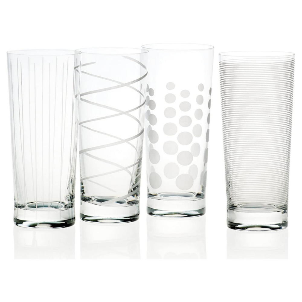 Cheers Hi-Ball Glasses - Set of 4