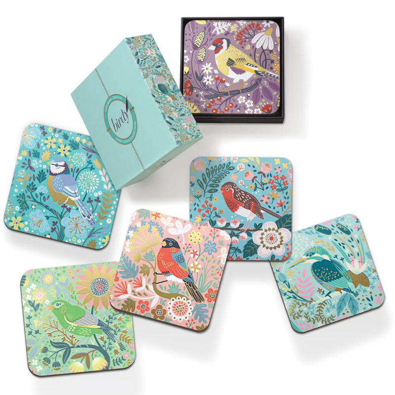 Birdy Set of 6 Coasters