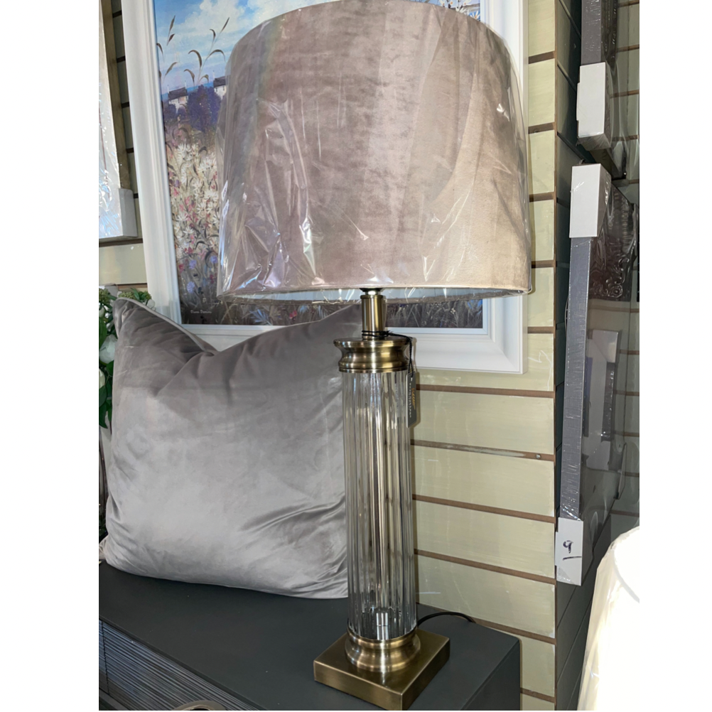 Lucia Glass Table Lamp