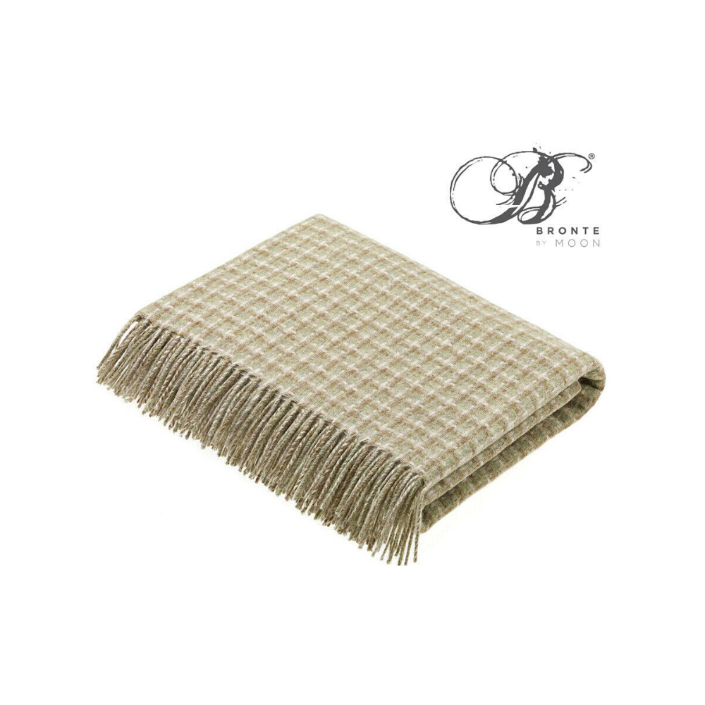 Bronte villa travertine throw