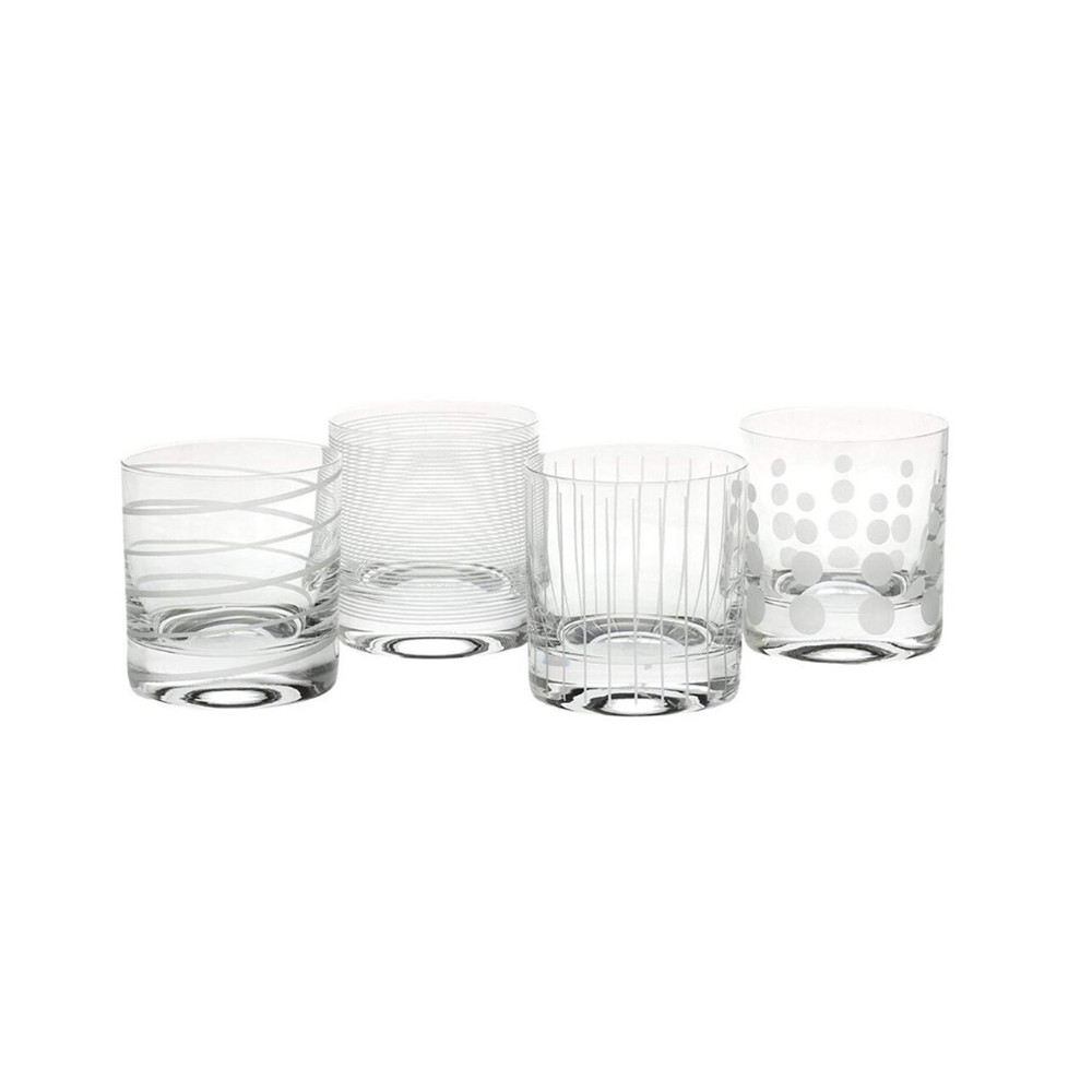 Cheers D.O.F. Glasses - Set of 4