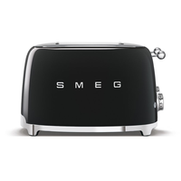 Smeg 4 Slice Toaster - Black