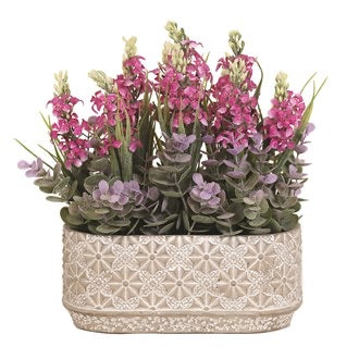 Floral Decorative Arrangement 28cm