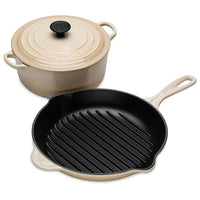 Classic Casserole and Round Grill 20cm Pan Set