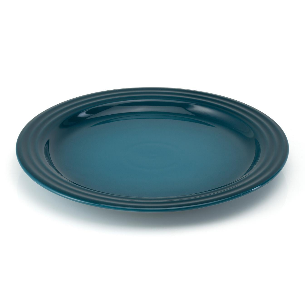 Stoneware 27cm Dinner Plate, Deep Teal
