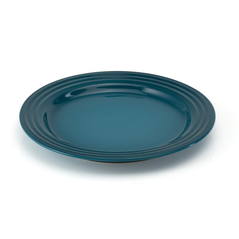 Stoneware 22cm Side Plate, Deep Teal