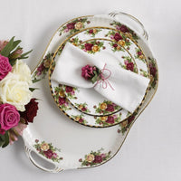Old Country Roses Turkey Platter