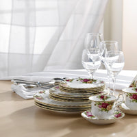 Old Country Rose 20 Piece Set