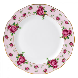 New Country Roses Pink Vintage Plate 27CM