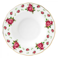 New Country Roses White Vintage Rim Soup 24CM