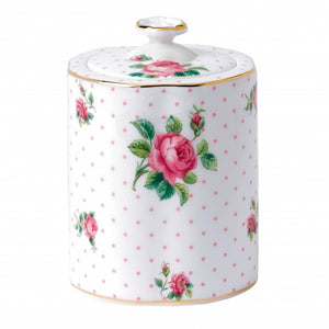 Cheeky Pink Roses Tea Caddy